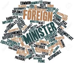 「foreign minister word」の画像検索結果