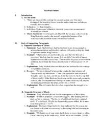 response to literature essay come with character sketch of macbeth  college essay macbeth outline character sketch of macbeth essay macbeth essay help