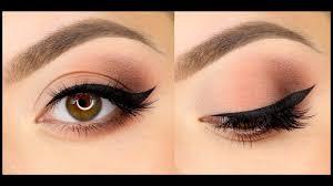 Классический макияж со стрелками - YouTube