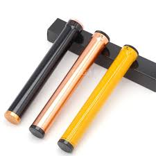 2019 Three Color <b>COHIBA</b> Portable <b>Metal Cigar</b> Tube Aluminum ...