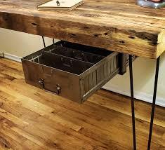 wooden desk surface shaped wood desks home