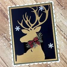 <b>Eastshape Deer</b> Frame Metal Cutting Dies <b>New</b> 2019 Stencil for ...
