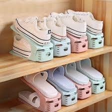 <b>Creative Shoe Rack Adjustable</b> Finishing Home Shelf Adjustable ...