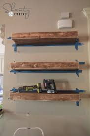 diy floating shelves build floating shelves