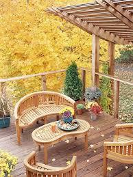 deck railing thin profile autumn garden furniture architecture awesome modern outdoor patio design idea