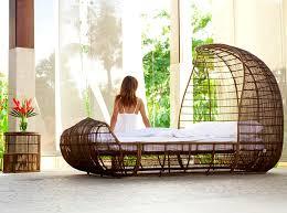 modern bedroom furniture design of voyage collection by kenneth cobonpue bed furniture design