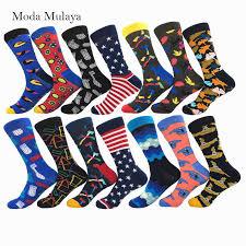 New Arrival 100% Cotton Novelty Men's Socks Man Brand Hip Pop ...