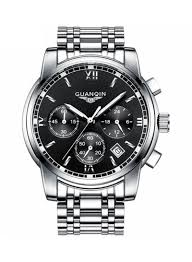 Shop <b>GUANQIN Men's</b> Water Resistant Casual Stainless Steel ...