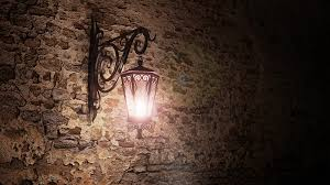 Image result for old fashioned lamp