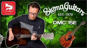 <b>Электроакустическая гитара SIGMA</b> DMC-15E - YouTube