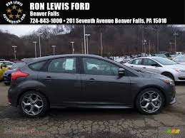 ford focus st in magnetic photo all american magnetic charcoal black ford focus st