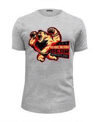 <b>Футболка</b> Wearcraft Premium Slim Fit Siberian Bear <b>Wrestling</b> ...