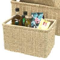 <b>Wicker</b> & Seagrass <b>Storage Baskets</b> | Boxes & Baskets | STORE