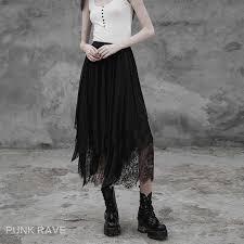 Hot Sale New <b>Women</b> Summer <b>Punk Rave SKIRTS</b> Black party ...