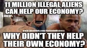 Meme Asks Brutal Question About Illegal Aliens & The Economy | The ... via Relatably.com