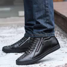 <b>JUNJARM</b> 2018 <b>Men Boots</b> Warm Plush <b>Mens</b> Winter <b>Shoes</b> ...