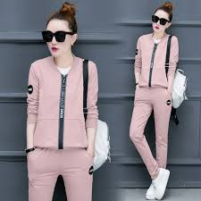 Casual <b>3 Piece Set</b> Tracksuit Women Clothes 2018 <b>Autumn</b> Ladies ...