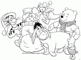Small Picture Coloring Pages Winnie Pooh And Friends Coloring Page Inkspired
