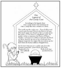 Small Picture The Legend of the Candy Cane FREE Printable Sunday school