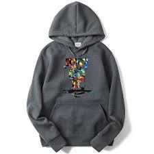 2019 2 Patten Types <b>Mens Painting</b> Letter <b>Printed Sweatshirts</b> ...