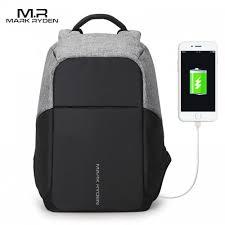 <b>Multifunction USB charging Men</b> 15inch Laptop Backpacks