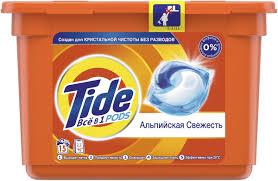 """<b>Капсулы для стирки Tide</b> """"Альпийская свежесть"""", 15 шт — купить ..."""