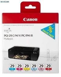 Купить <b>картридж Canon PGI-29</b> C/M/Y/PC/PM/R (4873B005 ...