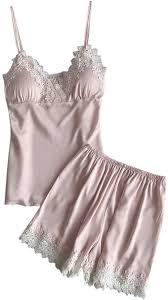 Teddy Underwear Lace Babydoll, 2PC Set Sleepwear ... - Amazon.com