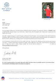 barth syndrome foundation thank you letter before and after barth foundation thank you letter after
