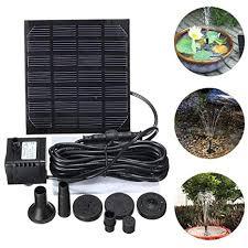 Kewholesale <b>1.5W Solar Garden Fountain</b> Pump Solar Garden ...