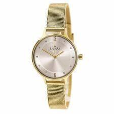 Аналоговые <b>наручные часы GOLD</b> case Skagen - огромный ...