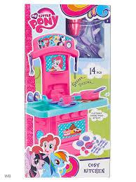 Детская игровая <b>кухня</b> мини <b>My Little Pony My Little Pony</b> 3450007 ...