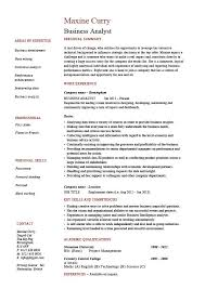 business analyst resume example sample professional skills operations jobs key skills business analyst resume objective