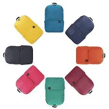 <b>Xiaomi Trendy</b> Solid Color Lightweight Water-resistant <b>Backpack</b> ...