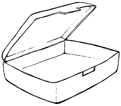 clipart drawing box clipartfest coloring pages of healthy