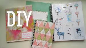 DIY: украшаем тетрадки и ежедневники своими руками - YouTube
