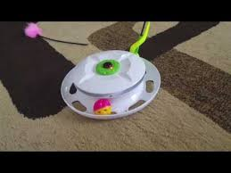 WANTO Interactive <b>Automatic Cat Toy</b> - YouTube