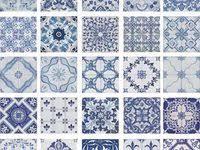 Синяя плитка: лучшие изображения (60) в 2020 г. | Синяя плитка ...