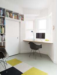 home office corner desk home office contemporary with bay window black armchair built corner desk home
