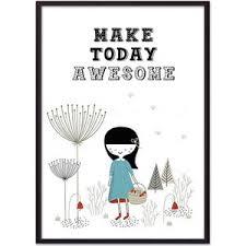 <b>Постер в рамке Дом</b> Корлеоне Make today awesome 30x40 см ...