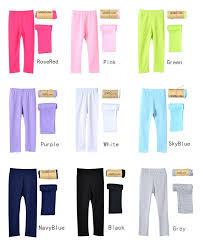 <b>girl pants new arrive</b> Candy color girls leggings Toddler classic ...