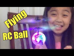 Fun! <b>Flying</b> RC <b>Ball</b> with LED Flashing Light, EpochAir Mini Aircraft ...