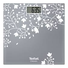 <b>Весы</b> напольные <b>Tefal</b> PP 1140 <b>Classic</b> Blossom Silver — купить в ...