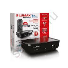 Ресивер <b>DVB</b>-<b>T2 LUMAX DV1110HD</b>