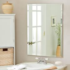 wood bathroom mirror digihome weathered: mounted mirrors bathroom digihome stunning design of the white sink and beige wall ideas with frameless bathroom mirror ideas