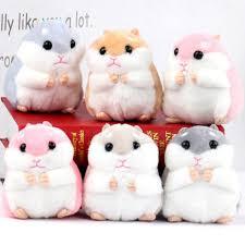 Small Hamster Toy Doll New Style <b>Cute</b> Soft Plush <b>Cartoon Kawaii</b> ...
