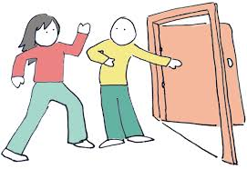Image result for holding a door