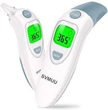 SVMUU <b>Ear and Forehead</b> Thermometer, Digital Infrared: Amazon ...