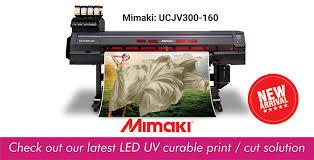 New Arrival: <b>Mimaki UCJV300-160</b> Printer | Rhosigns Neon