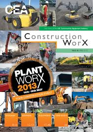 Construction WorX - Issue 2 - April 2013 by Construction Equipment ...